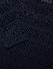 SAND - Merino Stripe - Iq - stickade basplagg - dark blue/navy - 2