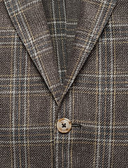 SAND - 6636 - Star Easy Normal - single breasted blazers - dark brown - 2