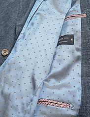 SAND - 6146 - Star Napoli Normal - blazers met enkele rij knopen - medium blue - 4