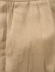 SAND - Twill Lux - Miriam - broeken med straight ben - light camel - 3