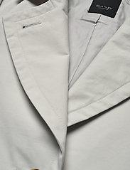 SAND - Techno Cotton W - Clareta Belt - trenchcoats - light pearl white - 2