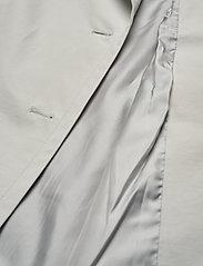 SAND - Techno Cotton W - Clareta Belt - trenchcoats - light pearl white - 3
