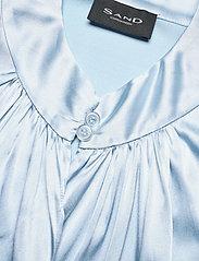 SAND - 3176 - Prosi Top S - blouses met korte mouwen - light blue - 4