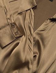 SAND - 3176 - Wrap - blouses met lange mouwen - light camel - 2