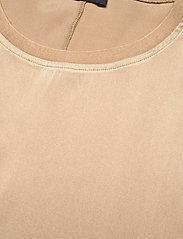 SAND - 3176 SW - Minerva - blouses met korte mouwen - light camel - 2