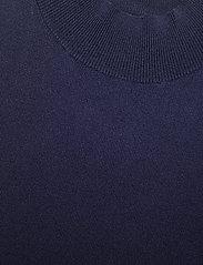 SAND - 5181 - Della - strikkede toppe - navy - 2