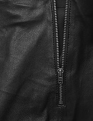 SAND - Stretch Leather - Shamar - skinnbyxor - black - 2