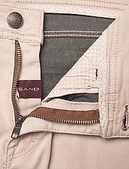 "SAND - Suede Touch - Burton NS 30"" - slim jeans - light camel - 3"