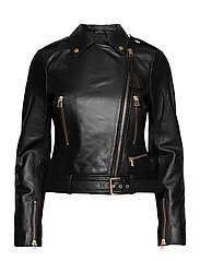 Soft Lamb Leather - Antille - BLACK