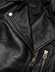 SAND - Soft Lamb Leather - Antille - leren jassen - black - 2