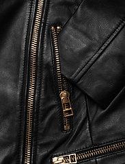 SAND - Soft Lamb Leather - Antille - leren jassen - black - 3