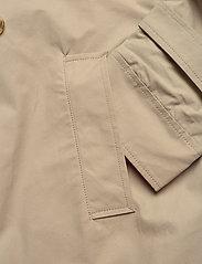 SAND - Techno Cotton - Trench B - trenchcoats - light camel - 3