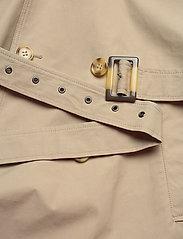 SAND - Techno Cotton - Trench B - trenchcoats - light camel - 4