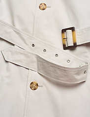 SAND - Techno Cotton - Single Trench - trenchcoats - off white - 4