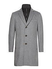 Cashmere Coat - Sultan Tech - MEDIUM GREY