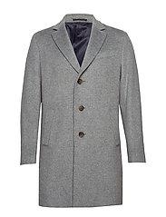 Cashmere Coat - Sultan Relax - MEDIUM GREY