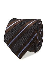 Tie 7cm - T265 - DARK BROWN
