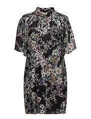 3668 - Prosa Sleeve Dress - BLACK