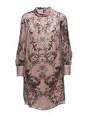 3877 - Prosa Cuff Dress - PINK