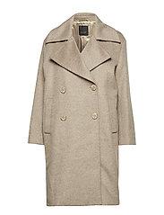 Cashmere Coat W  - Anke - LIGHT CAMEL
