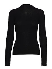 Fellini Rib - Eleri Top - BLACK