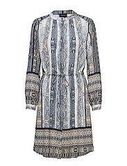 3628 New - Zihia Dress 2 - BLUE