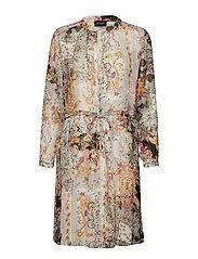 3655 - Zihia Dress 2 - BLACK