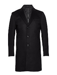 Cashmere Coat - Sultan Tech - BLACK