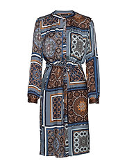 3339 - Zihia Dress - MEDIUM BLUE
