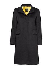 Cashmere Coat WW - Parker 3 - BLACK
