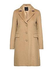 Cashmere Coat WW - Britni 2 - LIGHT CAMEL