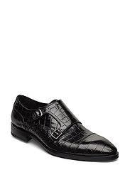 Footwear Mw - F302 Shoes Business Monks Svart SAND