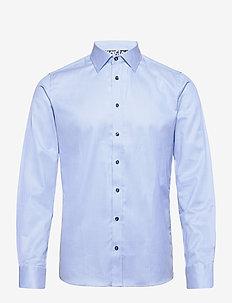 8534 - Iver Trim - basic skjortor - medium blue