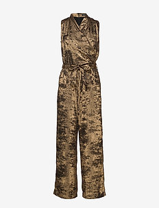 3348 - Whitney N - jumpsuits - light camel
