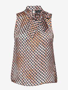 3359 - Prosa Top Tie - PINK