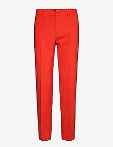 3596 - Dori A - straight leg broeken - medium red