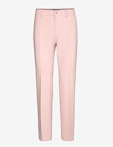 3596 - Dori A - straight leg trousers - soft pink