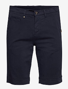 Cashmere Touch - Dolan Shorts - DARK BLUE/NAVY