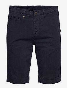 Cashmere Touch - Dolan Shorts - chinot - dark blue/navy