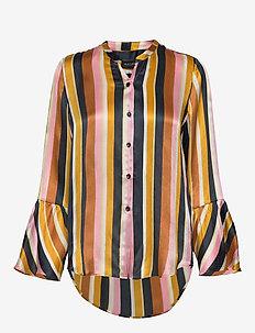 3371 - Estelle Cuff - langærmede bluser - pattern