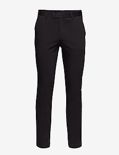 Suede Touch T - Craig SS Normal - chino's - black