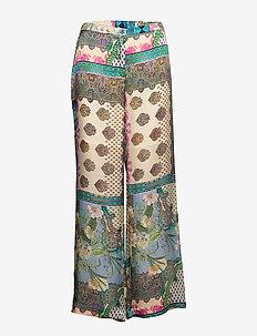 3370 - Sasha Flex/L - pantalons larges - blue