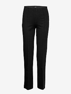 2548 - Malhia Wide - spodnie proste - black