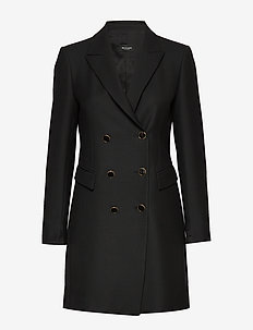 3596 - Keiko Dress - BLACK