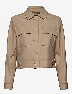 3596 - Kaela - light jackets - light camel