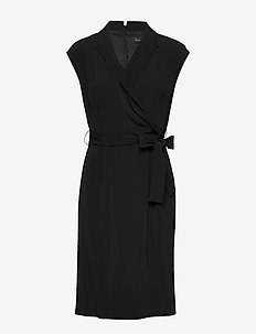 Crepe Satin Back - Bindy - BLACK