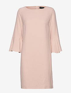 Crepe Satin Back - Jasone O - robes courtes - soft pink