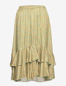 3367 - Nivi Skirt/L - midinederdele - orange