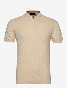 5445 - Retro Polo - LIGHT CAMEL