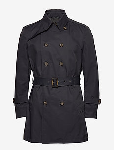 Techno Cotton - Trench B - trencze - dark blue/navy